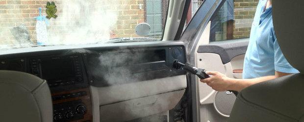 Puterea aburului in domeniul igienizarii auto: de ce sa curatam masina cu abur fierbinte?