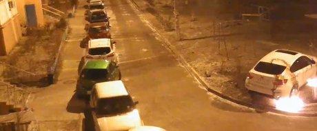 Razbunarea din Balkau (Rusia): un BMW X6 este incendiat