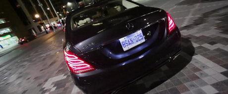 Reactia oamenilor la vederea noului Mercedes S-Class