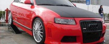 Red Devil rezident de CJ: Audi A3 by Mihai Bernat