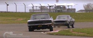 Refacerea urmaririi celebre de masini din Bullitt