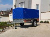 Remorca 750 kg Boro cu dimensiune utila 204x109 cm