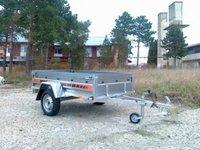Remorca auto 750 kg Boro Agro basculabil 205x122 cm