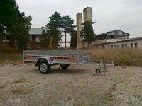 Remorca auto 750 kg Boro Agro basculabil 265x132 cm