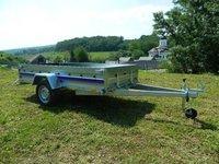 Remorca auto 750 kg Niewiadow dimensiune 304x150 cm