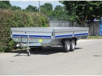 Remorca auto tip platforma Boro Boss 2700 kg dimensiune 500x205 cm