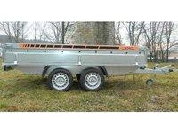 Remorca platforma Boro BH 1500 kg dimensiune 2500x1500x380 mm