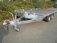 Remorca platforma transport auto Boro Atlas 2700Kg, dimensiune 500x200 cm
