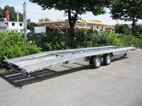 Remorca platforma transport auto Boro Indiana 3500Kg, dimensiune utila de 8000 x 2000 mm