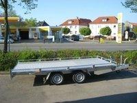 Remorca platforma transport auto Boro Pionier 2700Kg, dimensiune utila de 4000 x 2000 mm