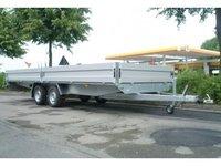 Remorca platforma transport marfa Boro Boss 2700 kg dimensiune 6100 x 2050