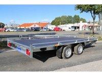 Remorca transport auto Boro Atlas 2700 kg dimensiune 450x200 cm