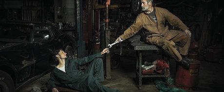 Renasterea mecanicilor auto: 10 tablouri renascentiste recreate in service-uri auto