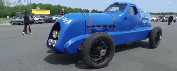 Renault aduce la Goodwood Festival of Speed un model din 1934, detinator a 3 Recorduri Mondiale