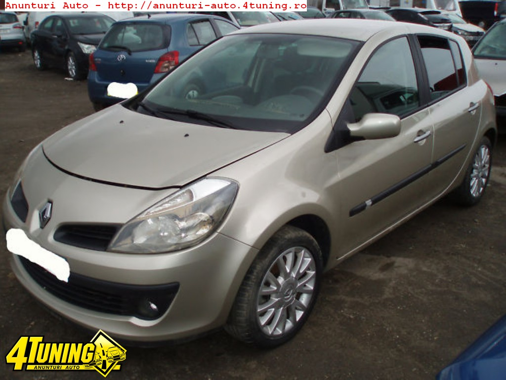 2005 renault clio iii 1 1 automatic related infomation specifications weili automotive network. Black Bedroom Furniture Sets. Home Design Ideas