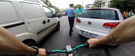 Respect Politia Rutiera din Bucuresti! Si va multumim ca va faceti datoria zi de zi!