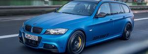 Reteta unei nebunii de 70 mii euro: BMWul 330d cu motor tri-turbo si punti de M