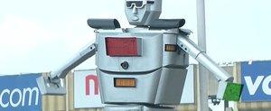 Robocop exista: traficul din Congo, controlat de politisti roboti