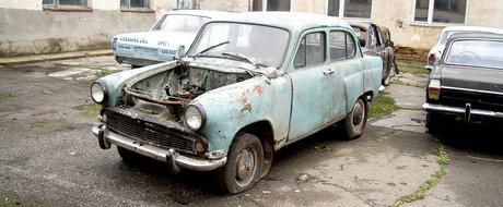 Romanii cumpara masini vechi in prostie. Numai luna trecuta au fost inscrise 23.000, majoritatea Volkswagen