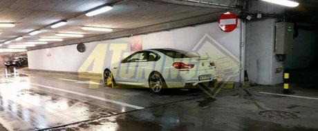Rovana Plumb loveste din nou: BMW-ul M6 parcat pe interzis, cu rotile blocate