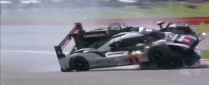 S-a intamplat recent! Momentul in care un Porsche incearca sa rastoarne un alt Porsche