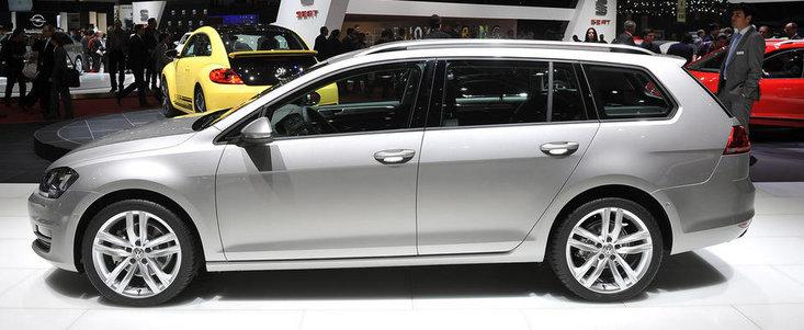Salonul Auto de la Geneva 2013: Cum arata in realitate noul Volkswagen Golf Variant