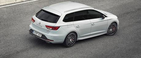 SEAT Leon ST Cupra are 280 CP, atinge suta in numai 6.0 secunde!