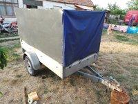 SEMIREMORCA Stema 750kg Prelata