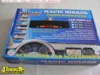 Senzori de parcare 4 senzori cu display in oglinda retrovizoare