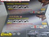 Senzori de parcare Sega cu 6 senzori detective fata spate si display oglinda retrovizoare