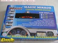 Senzori de parcare Volcano BS 406 cu 6 senzori detective fata spate si display oglinda retrovizoare