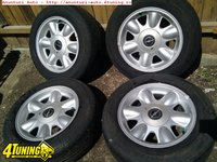 Set 4 Jante Aliaj 15 4x100 Originale BMW E30 compatibile Opel Gm Vectra Omega Astra H etc