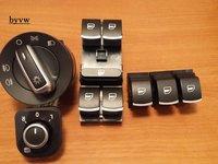 Set butoane cromate VW Passat B6,Golf, Jetta,Touran