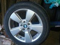 Set complet 4 ROTI pentru BMW X 3  sau X1, X5, X6,cu anvelope de iarna 235/50/18 Dunlop Winter Sport