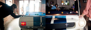Shelby GT350 Pooltable - Masa de biliard cu pedigree de campion