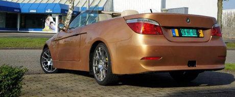 Singurul 'BMW E60 Cabrio' din lume e de vanzare in Europa. Cum arata si cat costa masina bavareza