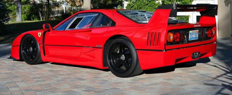 Singurul Ferrari F40 LM street-legal se vinde pentru 1.25 milioane dolari