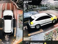 Sistem de asistenta la parcare auto cu 4 camere 360 grade functie dvr inregistrare si monitorizare