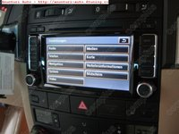 Sistem navigatie ORIGINAL RNS 510 pentru Vw touareg + Harta Romania