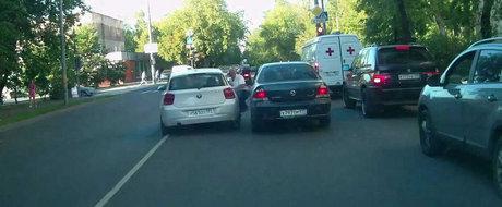 Soferul unui BMW calca un batran din razbunare