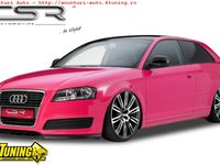 Spoiler Prelungire Bara Fata Audi A3 8P 8PA facelift 4 2008 2013 CSL082