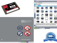 SSD pentru diagnoza cu Mercedes Star C4 DAS XENTRY 09 2014