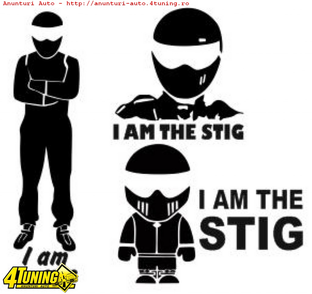 Stickere I am the STIG #126882