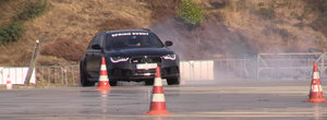 Stim ca oricine vrea BMW, dar sa-i spuna cineva tipului ca asta e un Audi RS6 care nu e invatat cu drift-ul