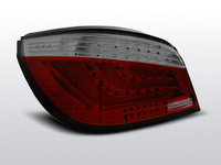 Stopuri BMW E60 Sedan Rosu Fumuriu LED BAR