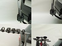 Suport auto pentru 4 biciclete, cu prindere pe carligul de remorcare - Peruzzo Arezzo 667/4