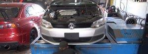 Surpriza de la dyno: cati cp are un Volkswagen cu motor masluit fata de unul cu motor normal?