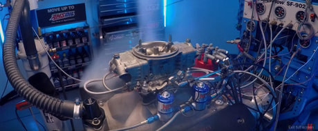 Te-ai intrebat vreodata ce se intampla cand dai cu NOS intr-un motor complet stock?