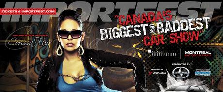 Teaser Importfest 2011 - cel mai tare show de tuning cu masini si femei din Canada