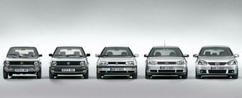 Testeaza-ti cunostintele: 40 de ani de Volkswagen Golf